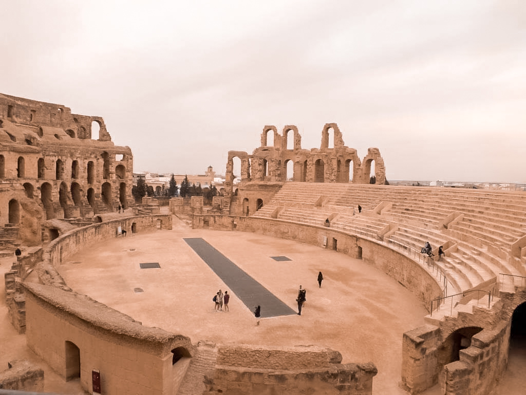 Another view of the arena and seating