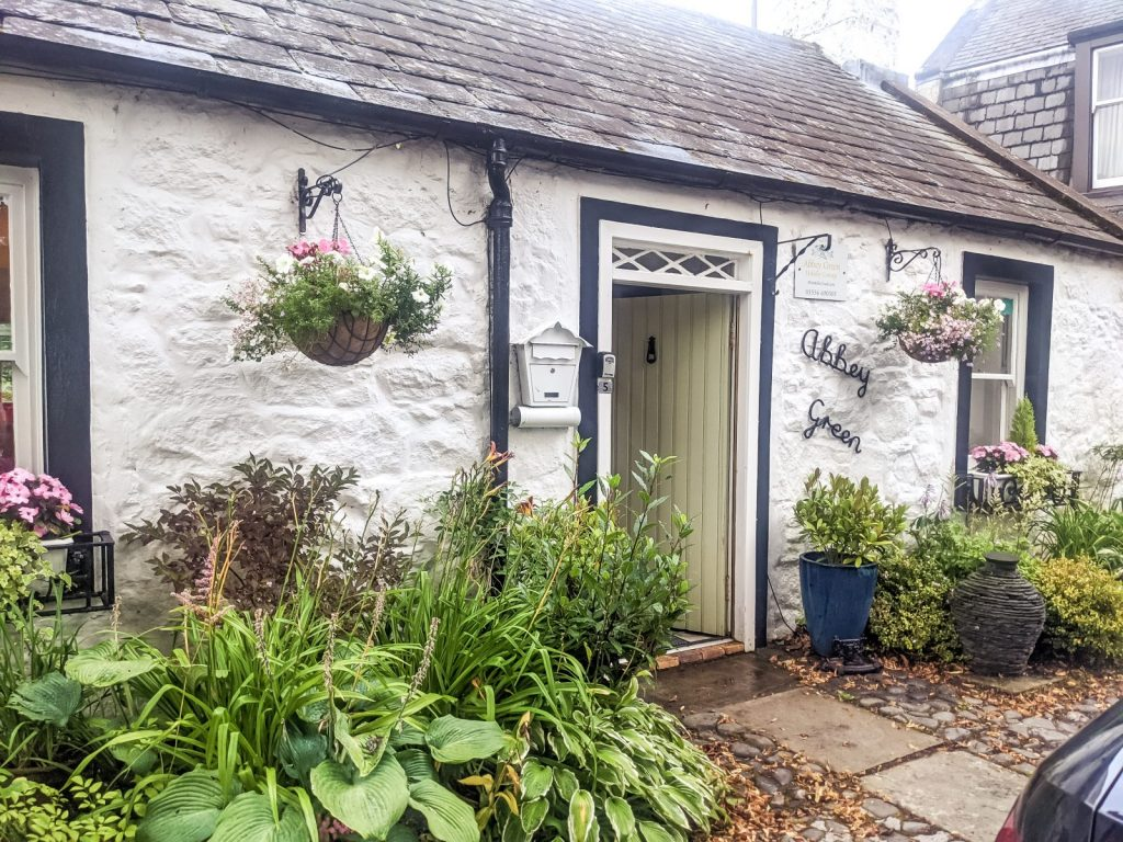 Our cottage at New Abbey