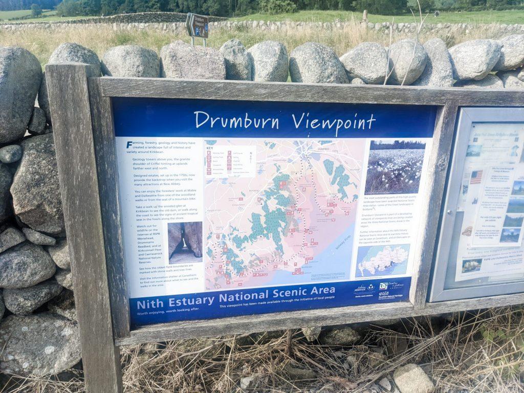 Drumburn viewpoint sigh