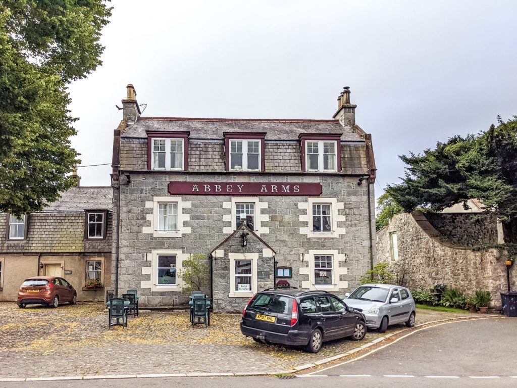 New abbey arms